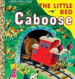 THE LITTLE RED CABOOSE - Little Golden Book