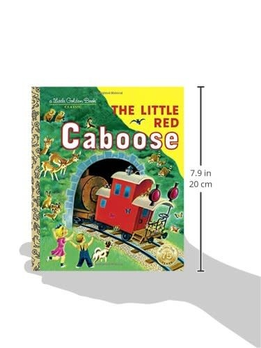 THE LITTLE RED CABOOSE - Little Golden Book