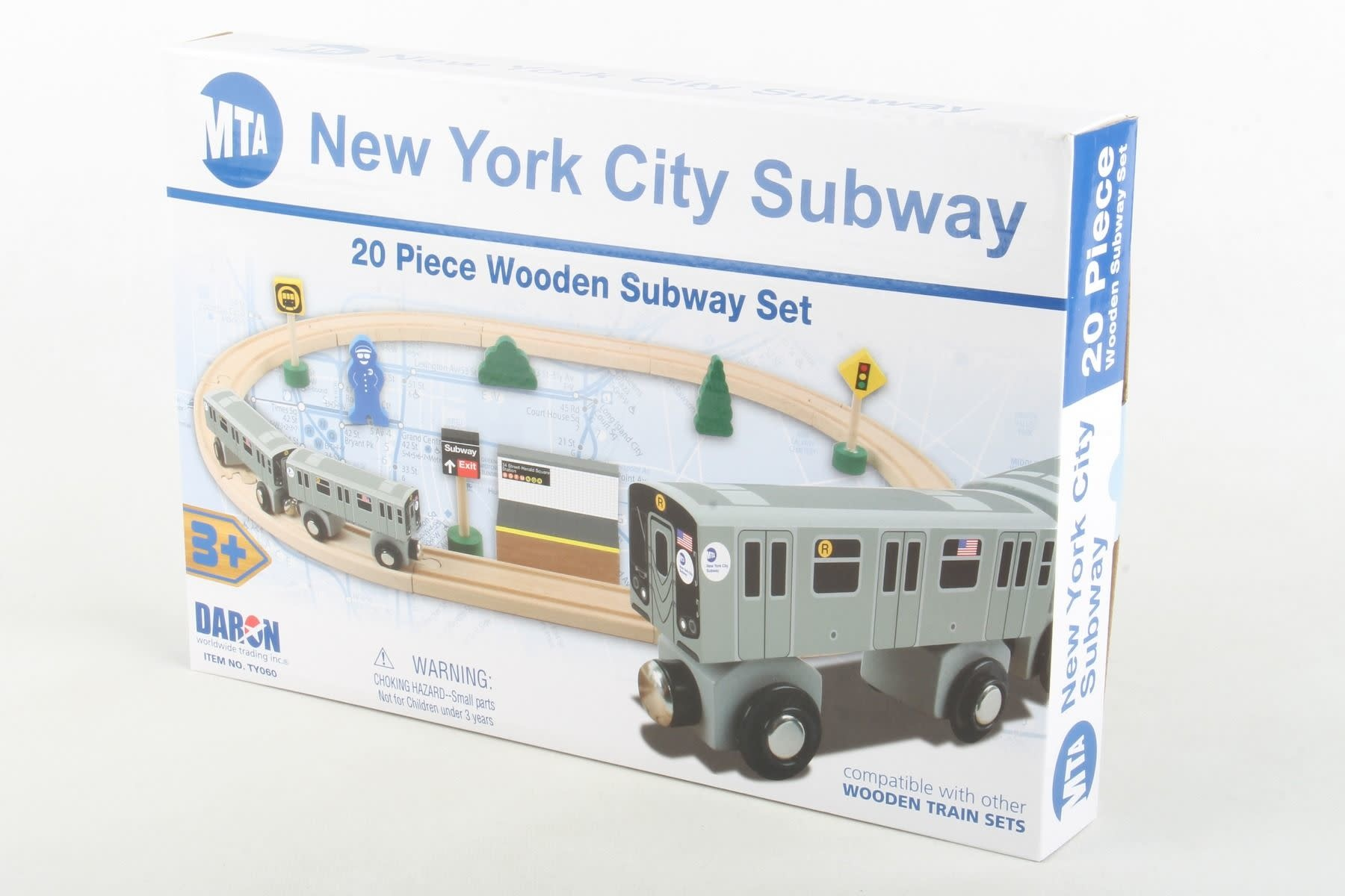 MTA Wooden Train Set