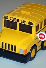 "4"" Chubby School Bus Pull Back"
