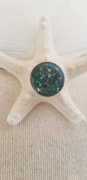 "Maine Shellware Interchangeable Seashell Bracelet ""Snap"" Only"