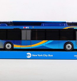 MTA Single Bus (New Blue Livery)