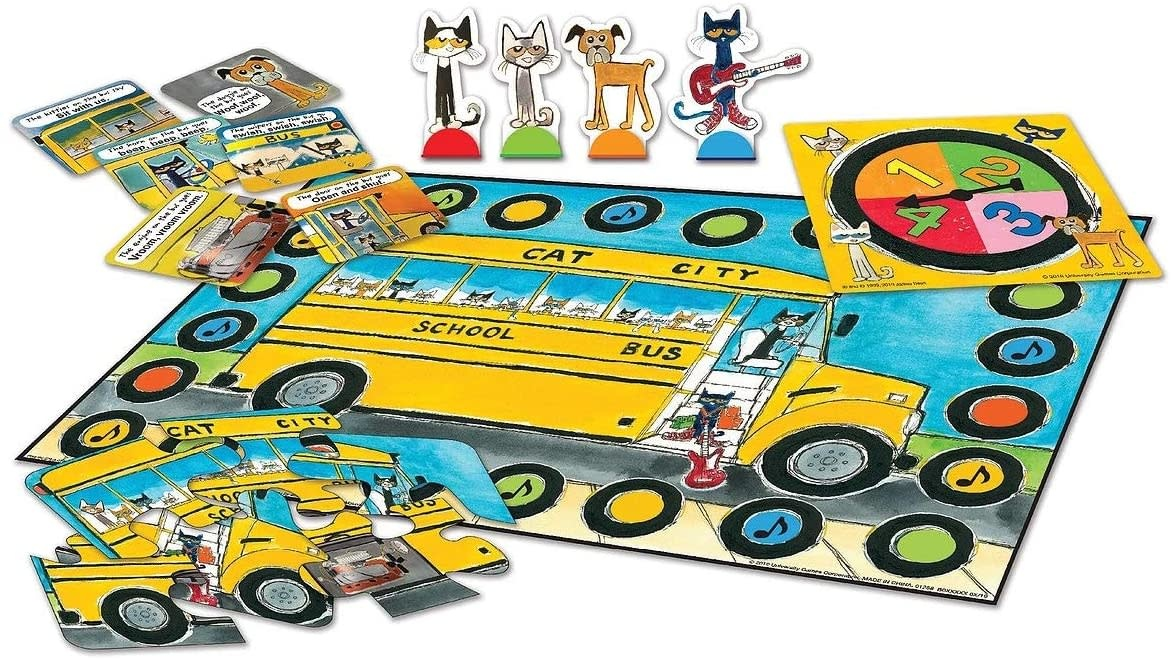 Pete the Cat: The Wheels on the Bus Game