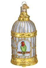 Old World Christmas Vintage Bird Cage Ornament