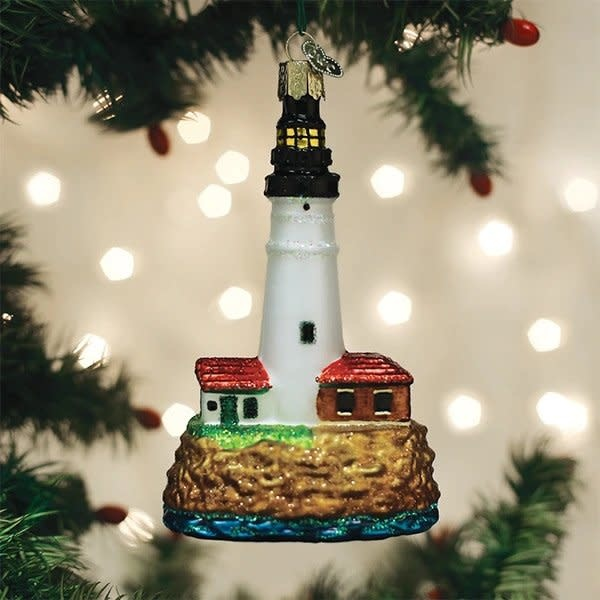 Old World Christmas Portland Head Lighthouse Ornament