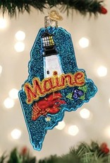Old World Christmas State of Maine Ornament