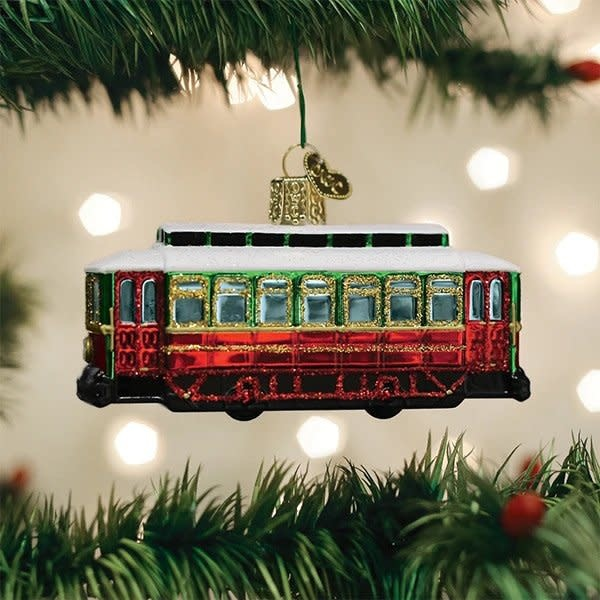 Old World Christmas Trolley Ornament
