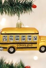 Old World Christmas School Bus Ornament