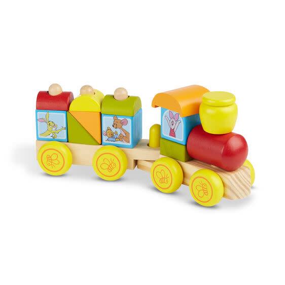 Melissa & Doug Winnie The Pooh Wooden Stacking Train