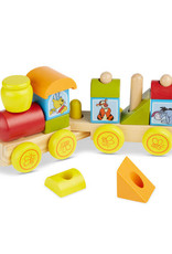 Melissa & Doug Winnie The Pooh Wooden Stacking Train