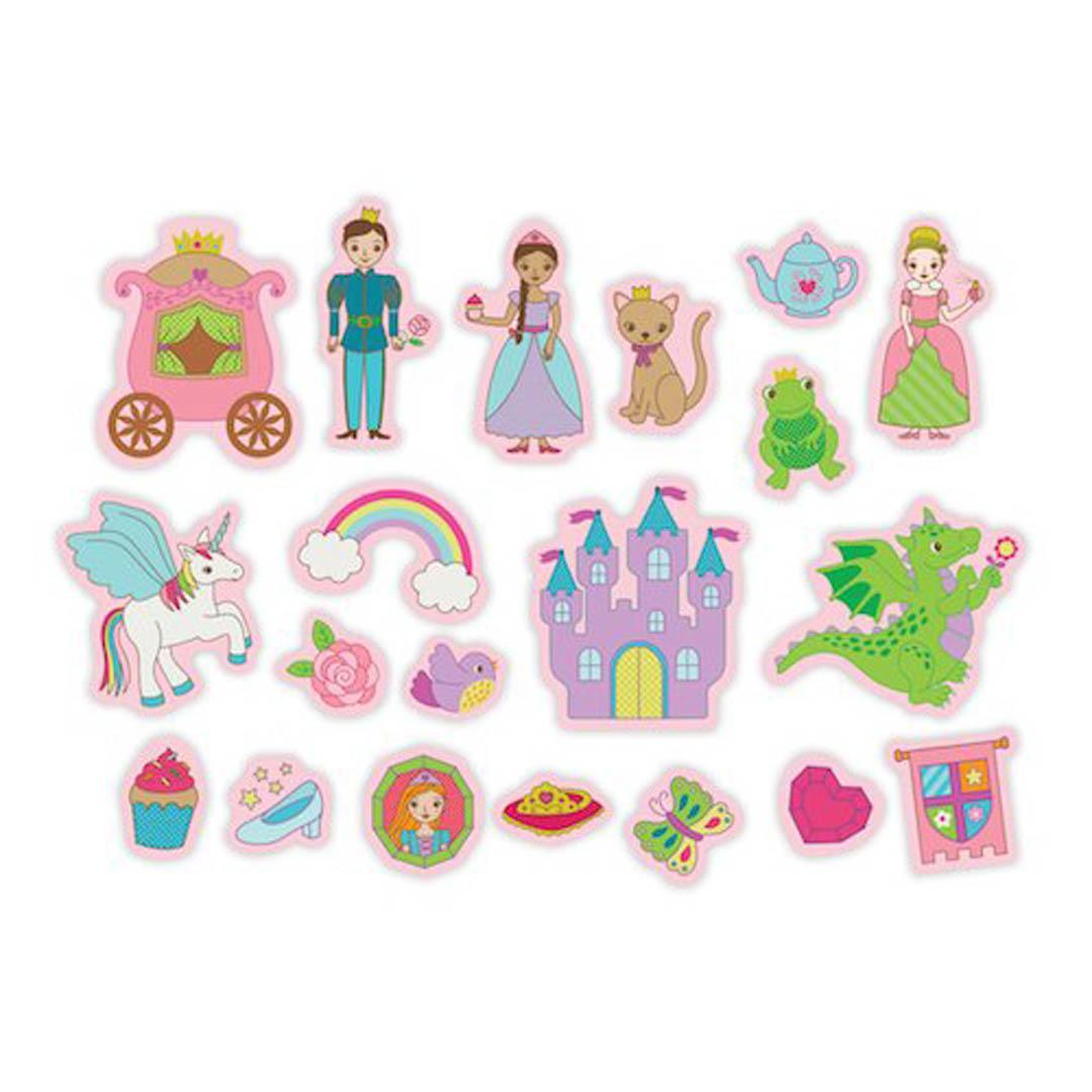 Mudpuppy Princess Box of Magnets