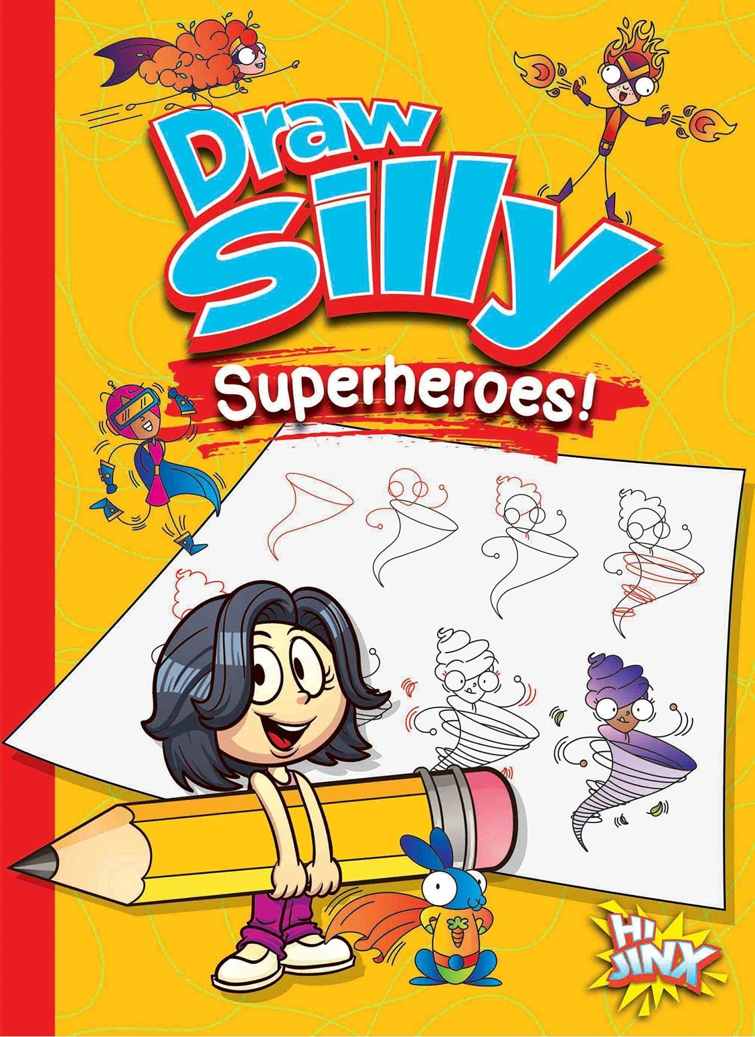 Draw Silly Superheros!