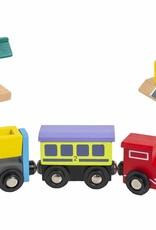 Wood Train Cars Individual