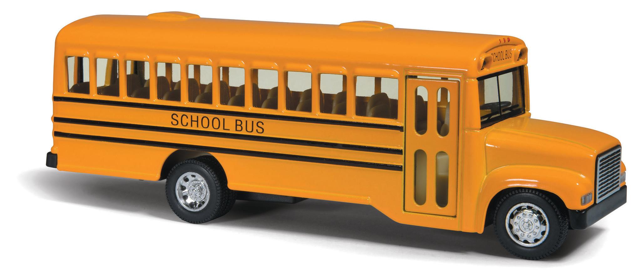 """Kinsfun Kinsfun School Bus 6.5"""" - Yellow"""