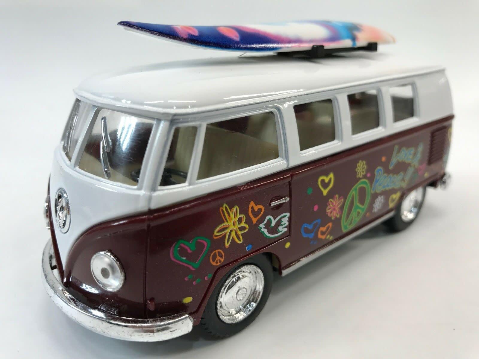 Kinsmart 1962 VW Bus Surfboard Hawaii