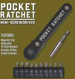 Trixie & Milo Pocket Ratchet Multi-Tool