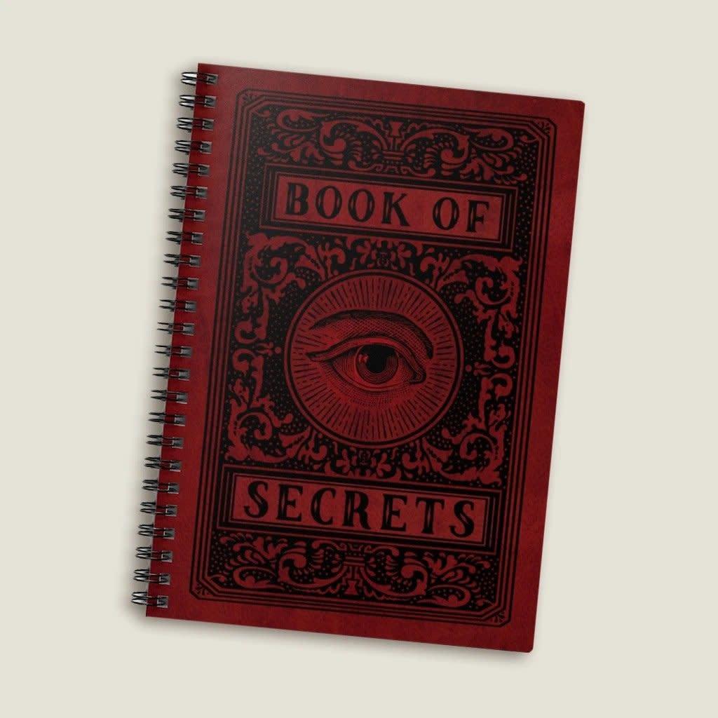 Trixie & Milo Book of Secrets Spiral Notebook