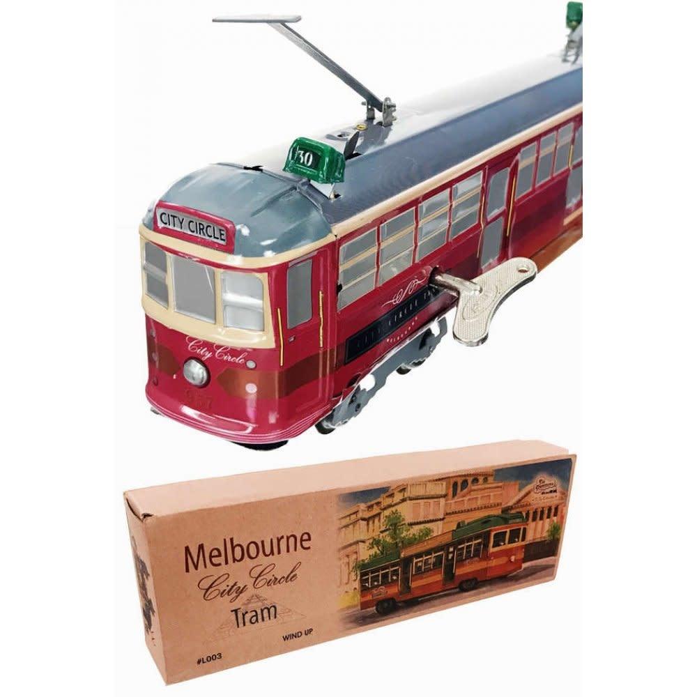 Tin Toy Arcade City Circle Tram Melbourne Street Car