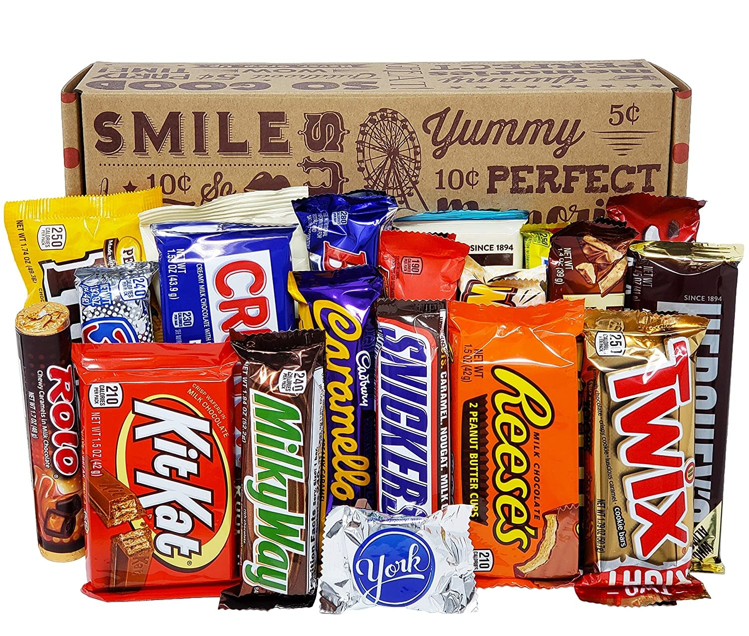 Candy Bars - Assorted