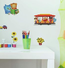 The Fred Rodgers Co Daniel Tiger Peel & Stick Wall Decals