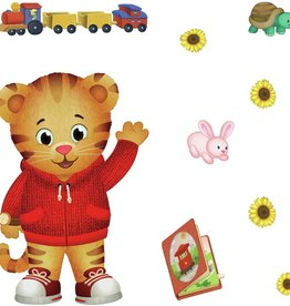 The Fred Rodgers Co Daniel Tiger Peel & Stick GIANT Wall Decals