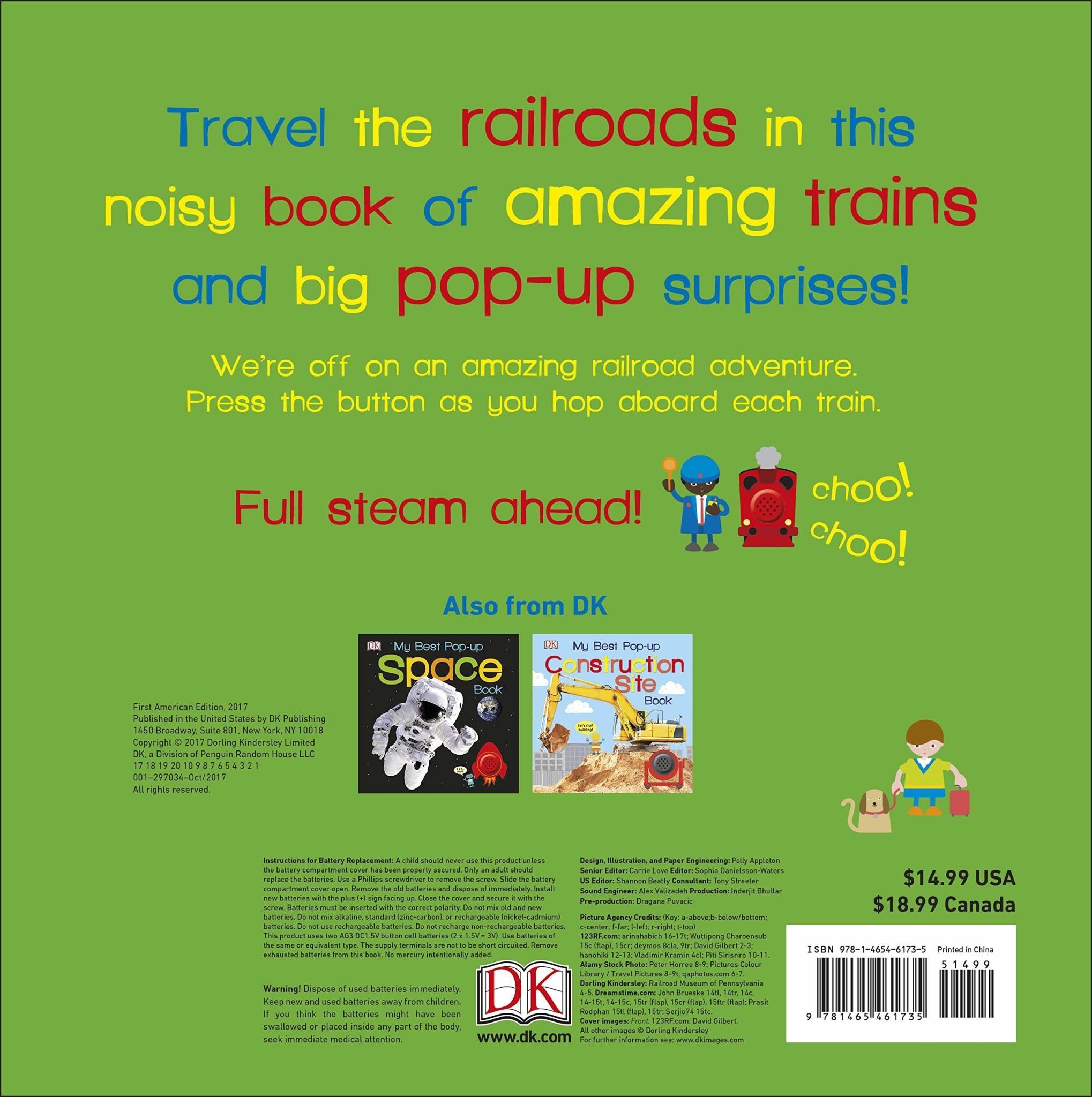 My Best Pop-up Noisy Train