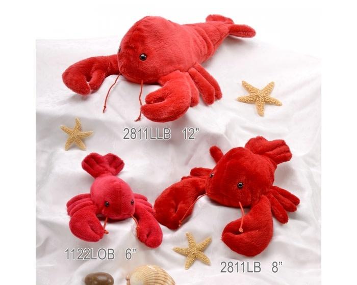 "Unipak Designs Corp 12"" Flopsies Lobster - Plush"