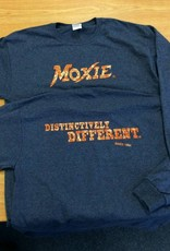 Moxie Long Sleeve Heather Navy Tee