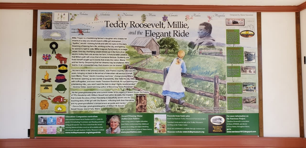 Teddy Roosevelt, Millie, and the Elegant Ride