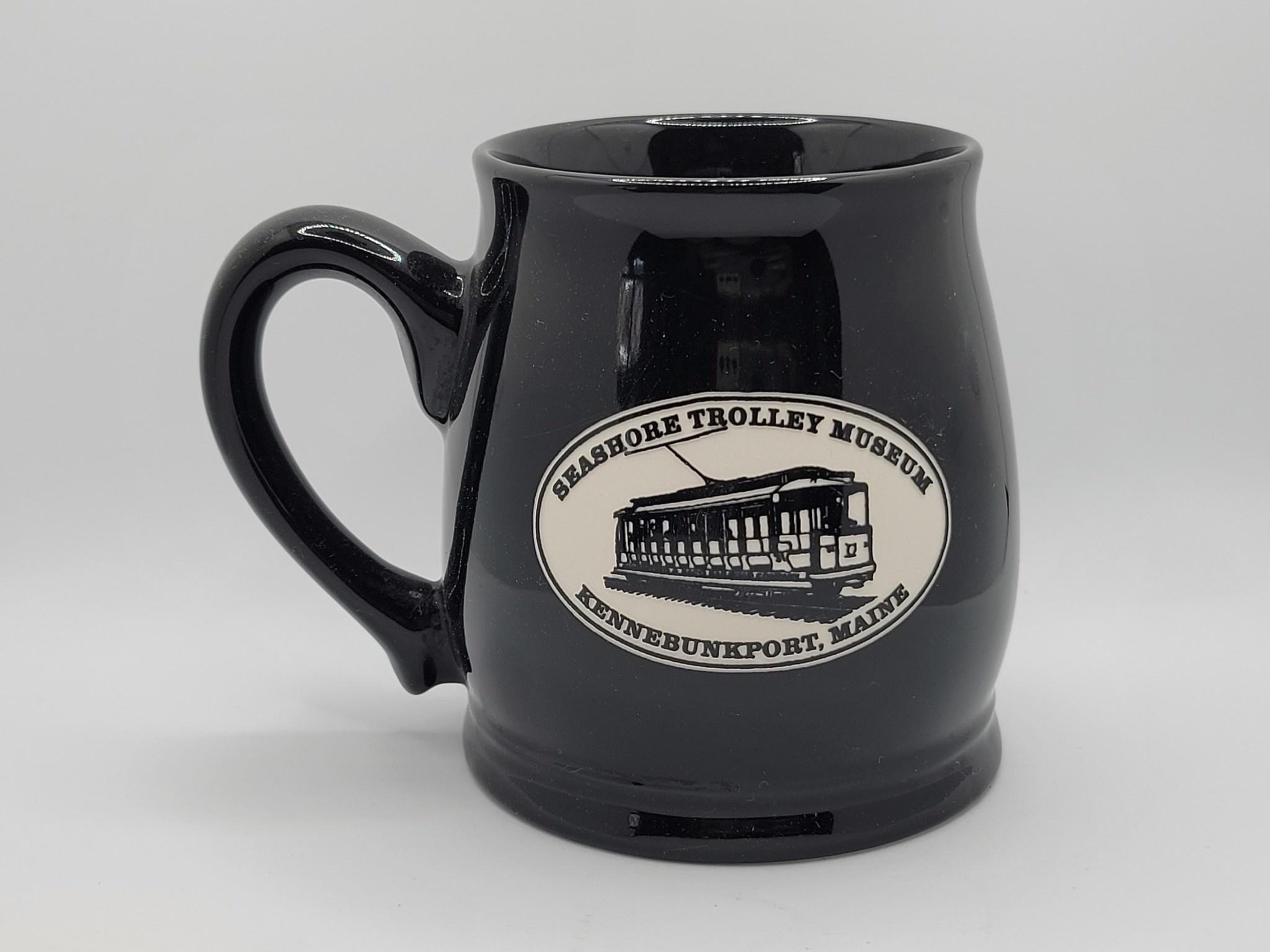 American Crystal Tankard Mug Solid Black