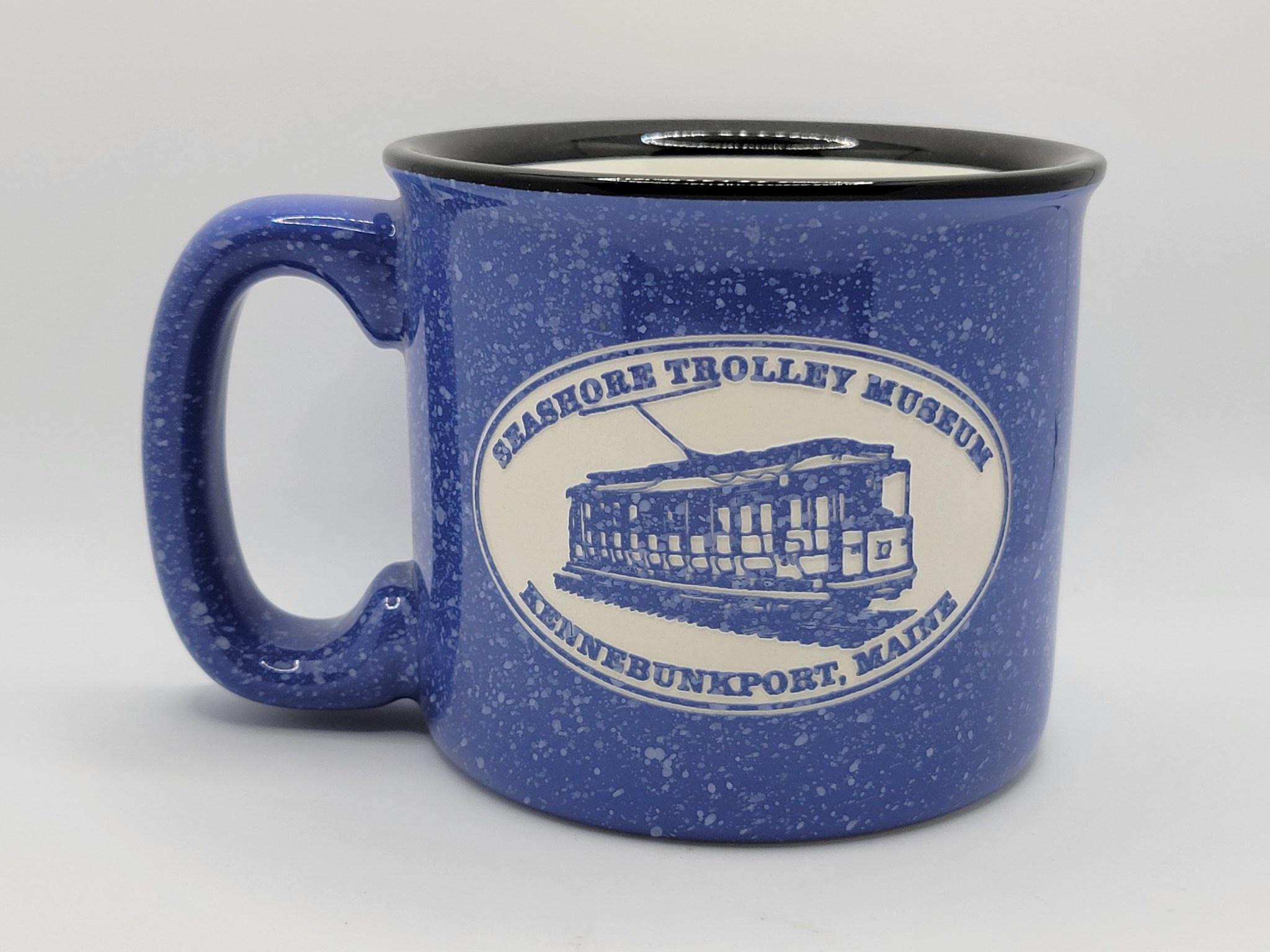 American Crystal Campfire Mug Ocean Blue
