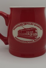 American Crystal Tankard Mug Solid Red