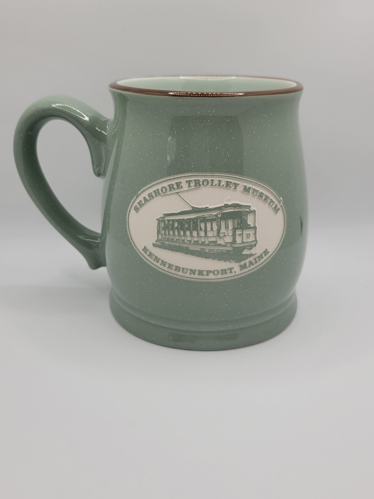 American Crystal Tankard Mug Sage Green