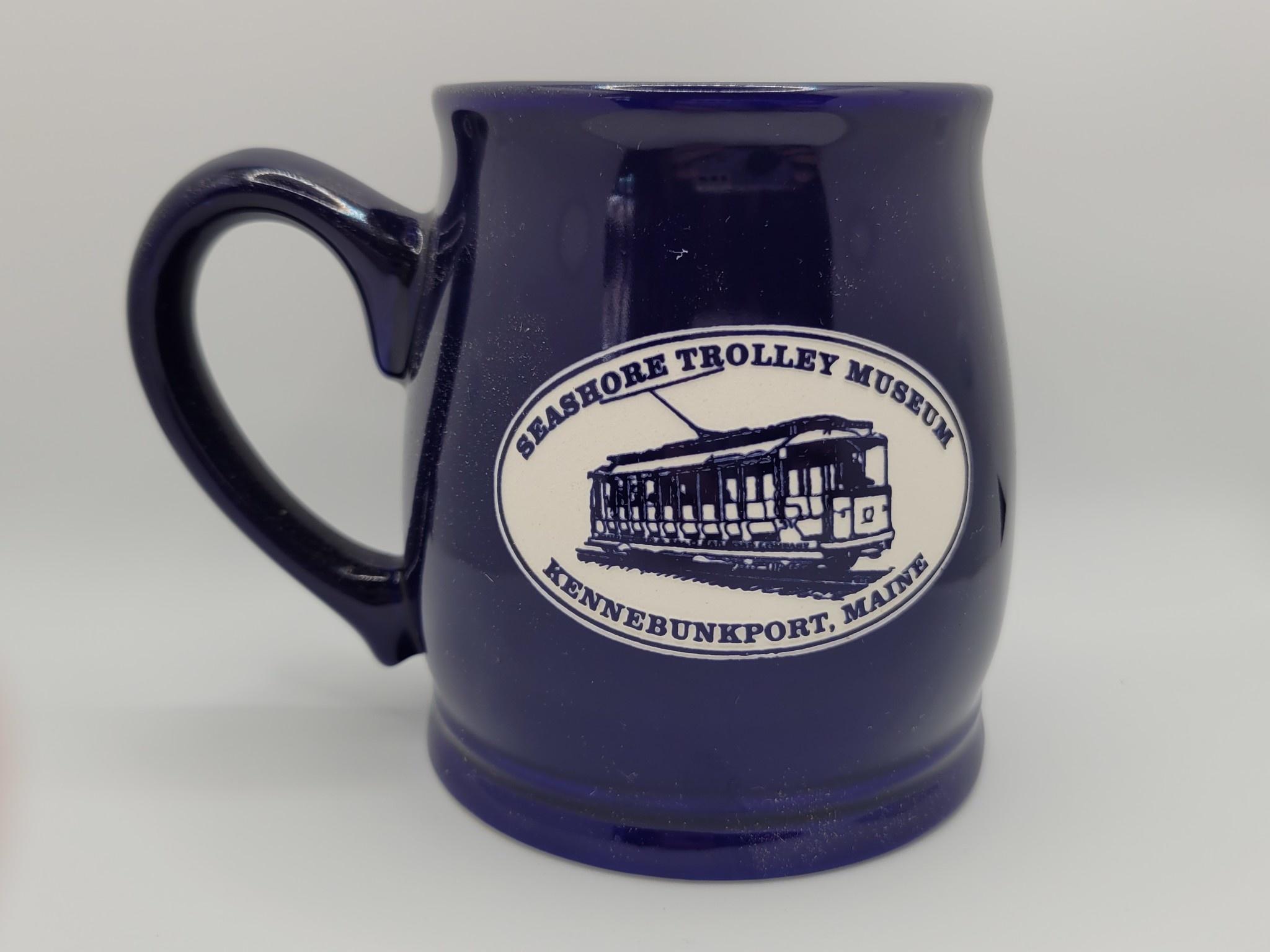 American Crystal Tankard Mug Solid Cobalt