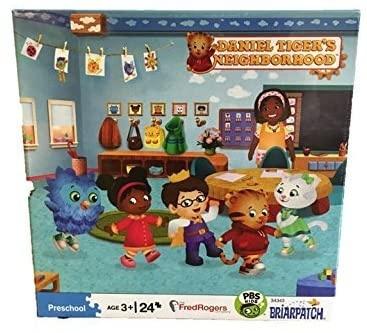 Daniel Tiger's Puzzle (School or Trolley)