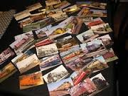 20 Assorted Post Cards Trains - Small