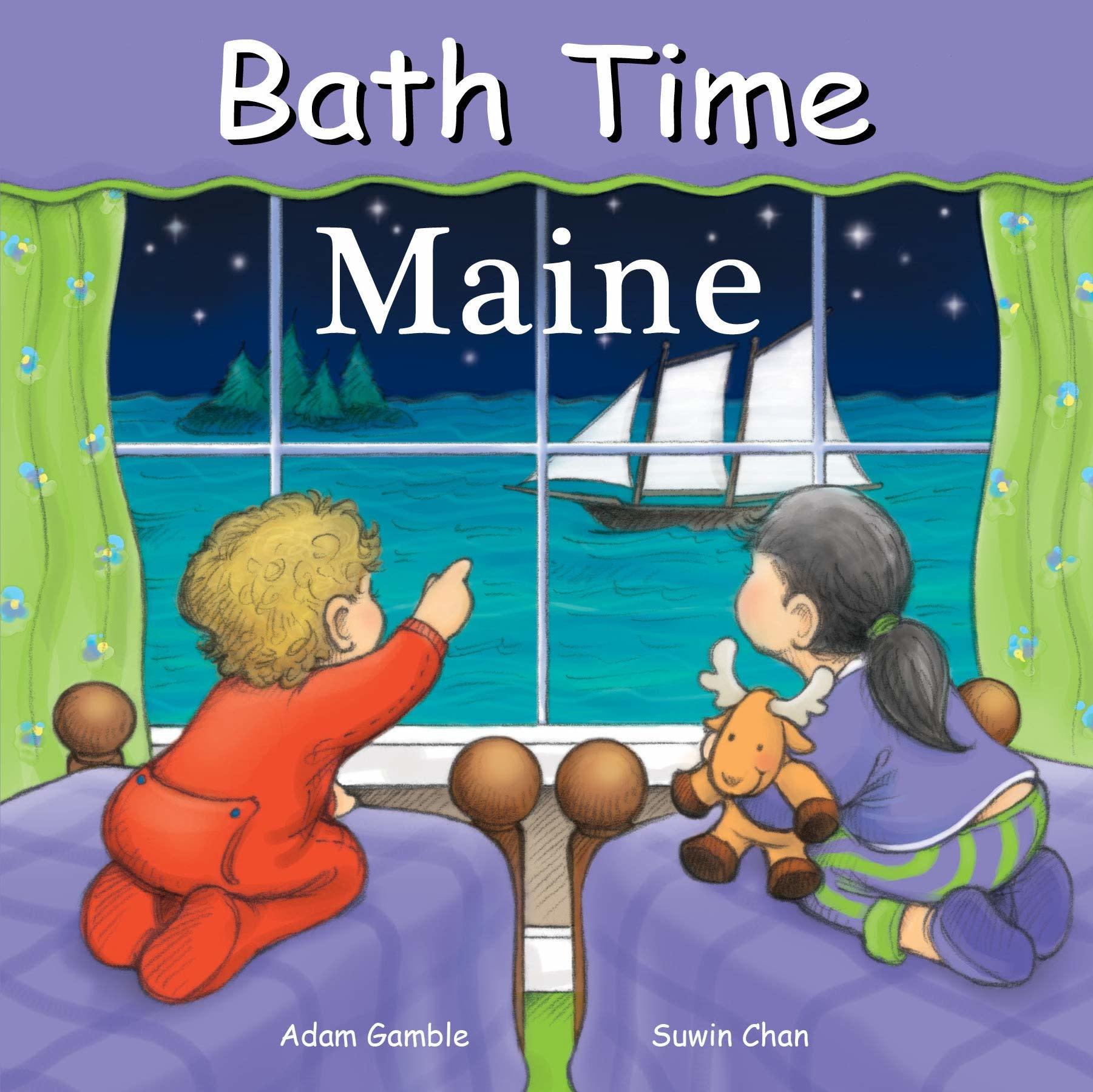 BATH TIME MAINE BOOK