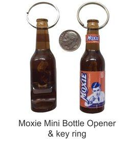 Moxie Bottle Opener - Key Ring