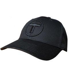 Adult T Logo Hat - Solid Black