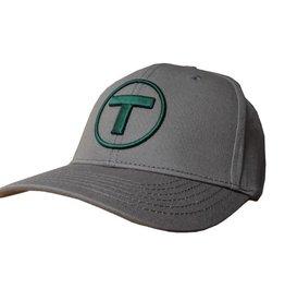 Adult T Logo Hat - Solid Dark Grey