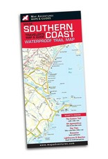 Map Adventures LLC Southern Coast Waterproof Traveler's Map & Guide