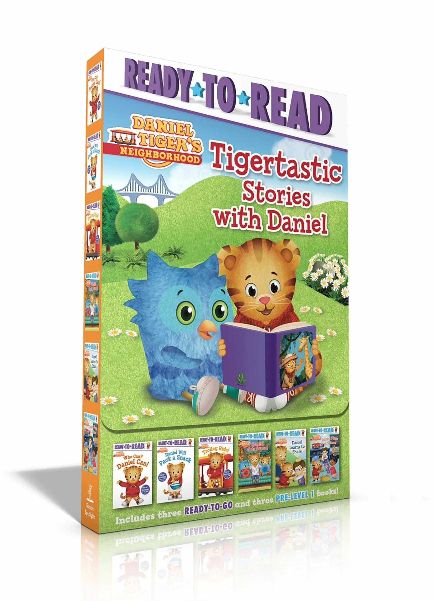 Simon Spotlight Tigertastic Stories with Daniel Tiger