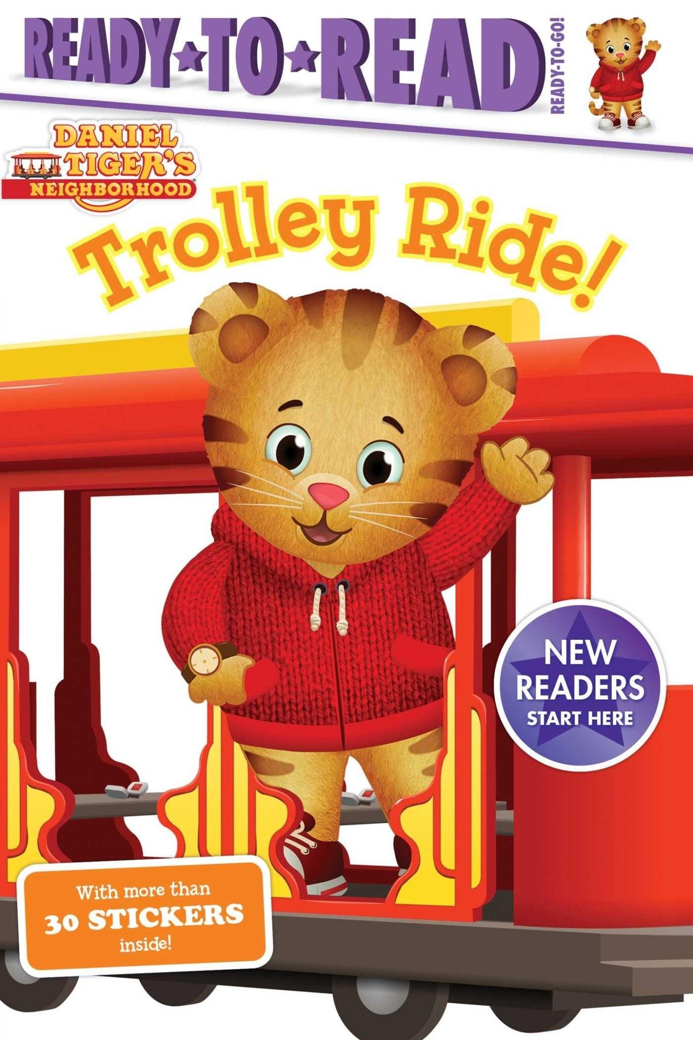 Simon Spotlight Daniel Tiger Trolley Ride!   (Hardcover)