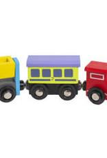 3T Rail Products Wood Train Cars
