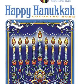 Creative Haven Happy Hanukkah Coloring Book