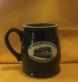 Tankard Mug Solid Black