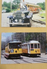 Large Trolley Postcard