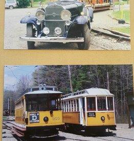 Large Trolley Postcard