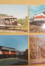 Small Trolley Postcard