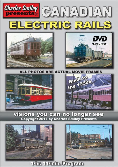 Canadian Electric Rails 1950's  $10.00 OFF